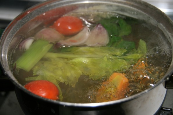 Brodo vegetale ricetta