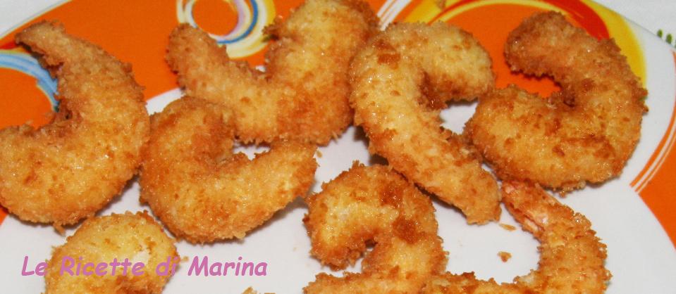 Coco-Shrimps – gamberi al cocco