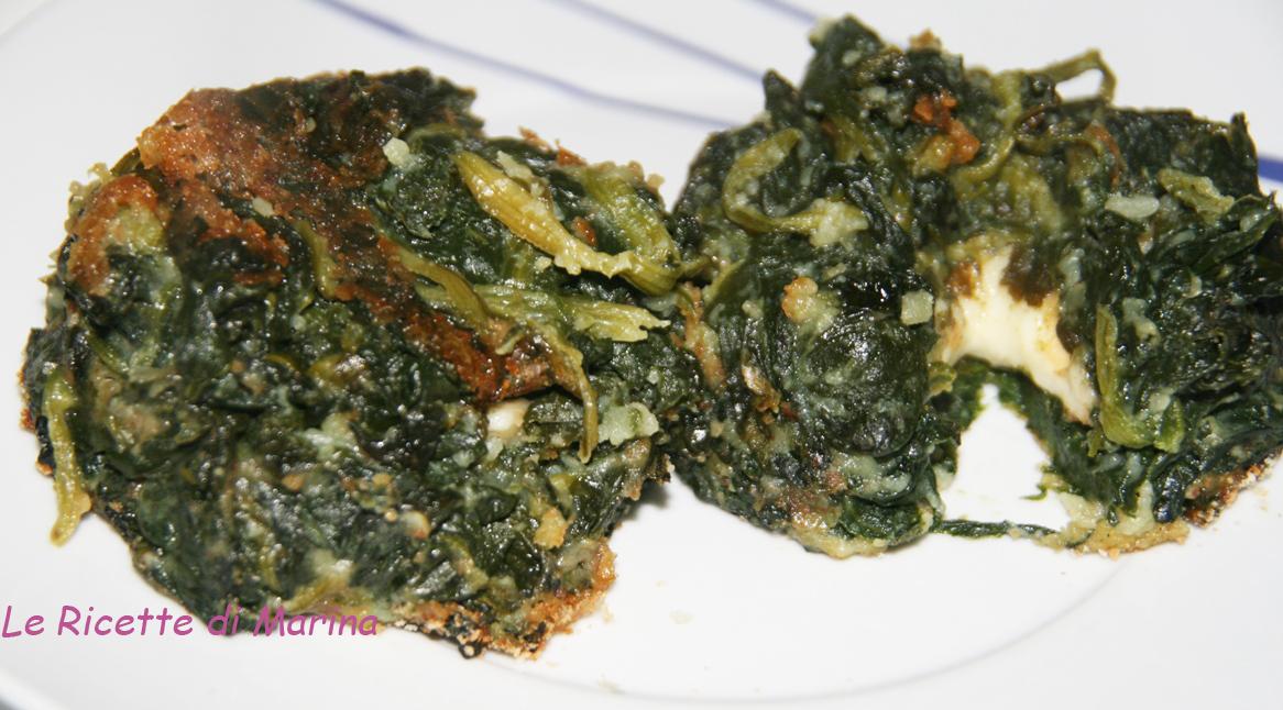 Tortino di spinaci con il cuore tenero