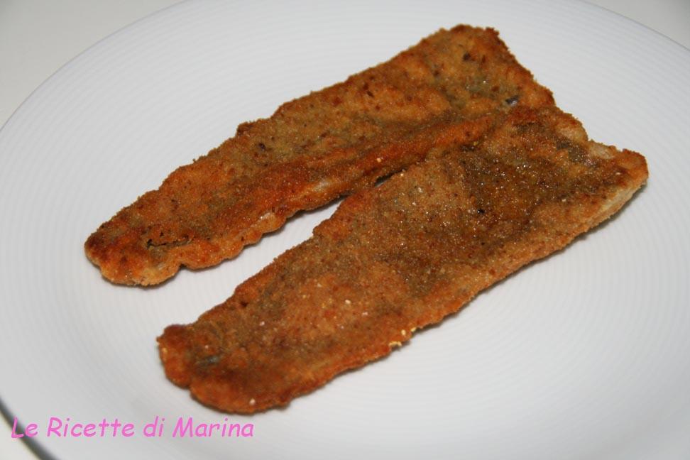 Cotolette di pesce spatola
