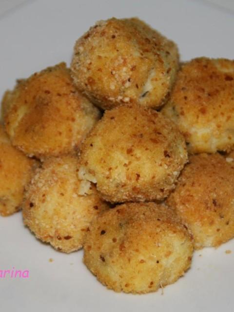 crocchette patate e ricotta