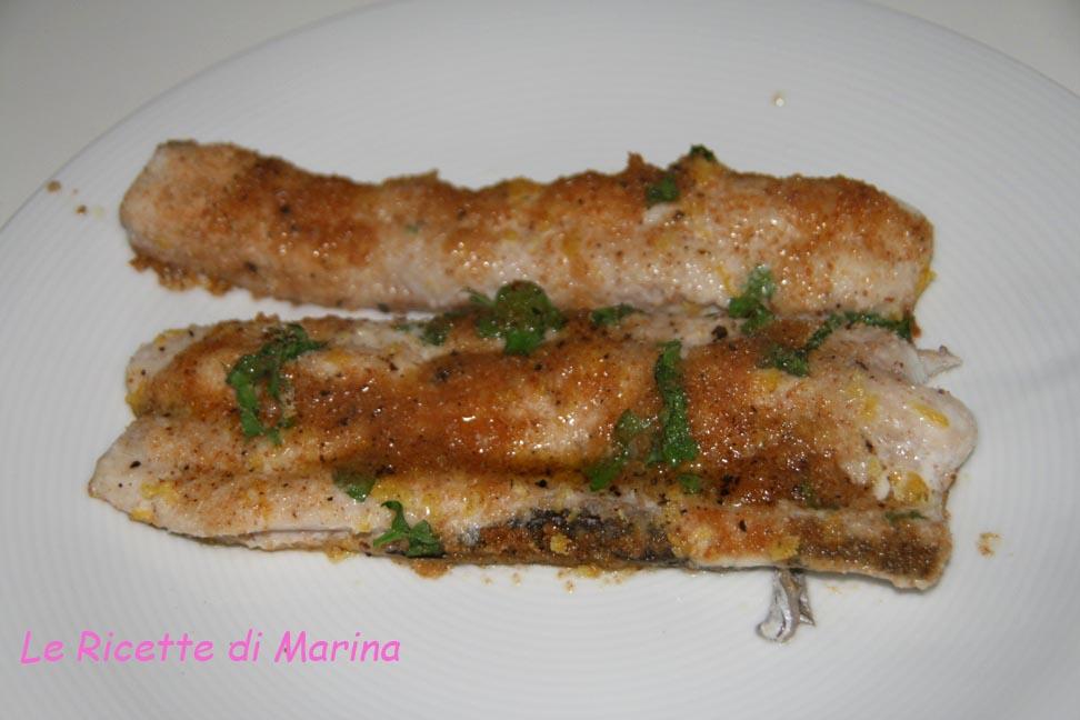 Filetto di pesce sciabola al forno