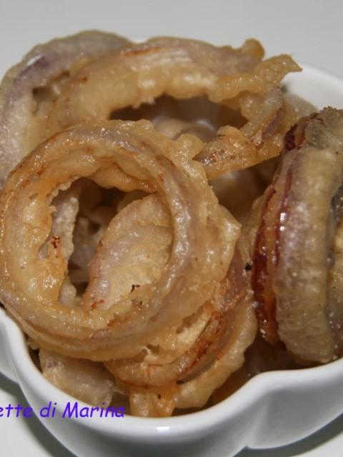 Onion rings Anelli di cipolla fritti
