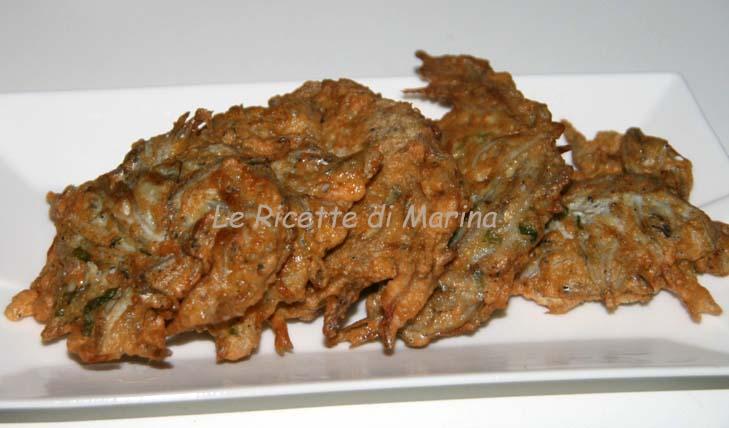 Frittelle di cicinielli (bianchetti)