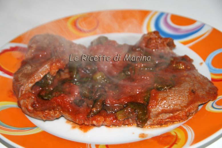 Carne alla pizzaiola