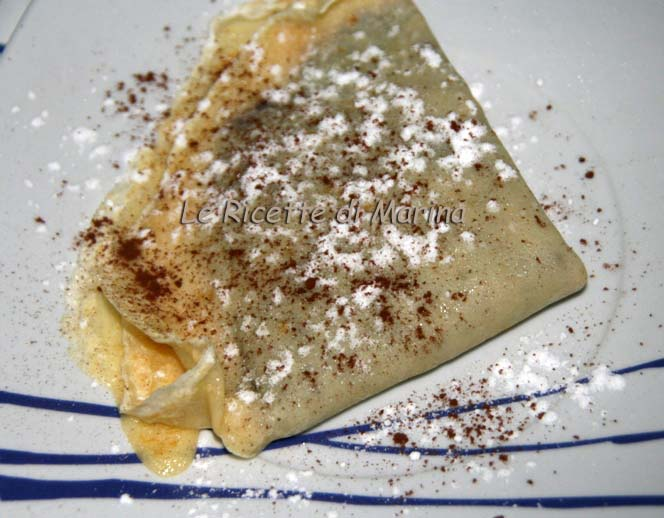 Crepes con la nutella