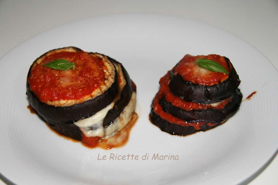 Parmigiana estiva o millefoglie di melanzane?