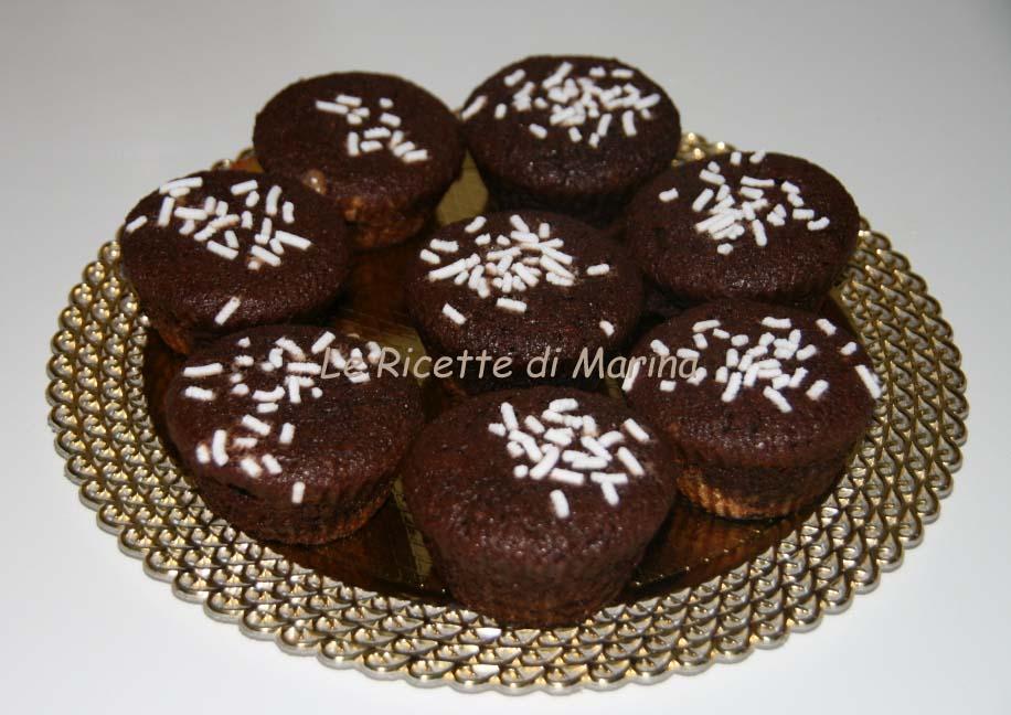 Muffin cioccolato e cocco (senza glutine)