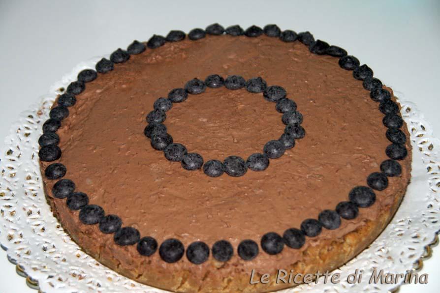 Cheesecake cioccolato e cocco, ricetta senza cottura