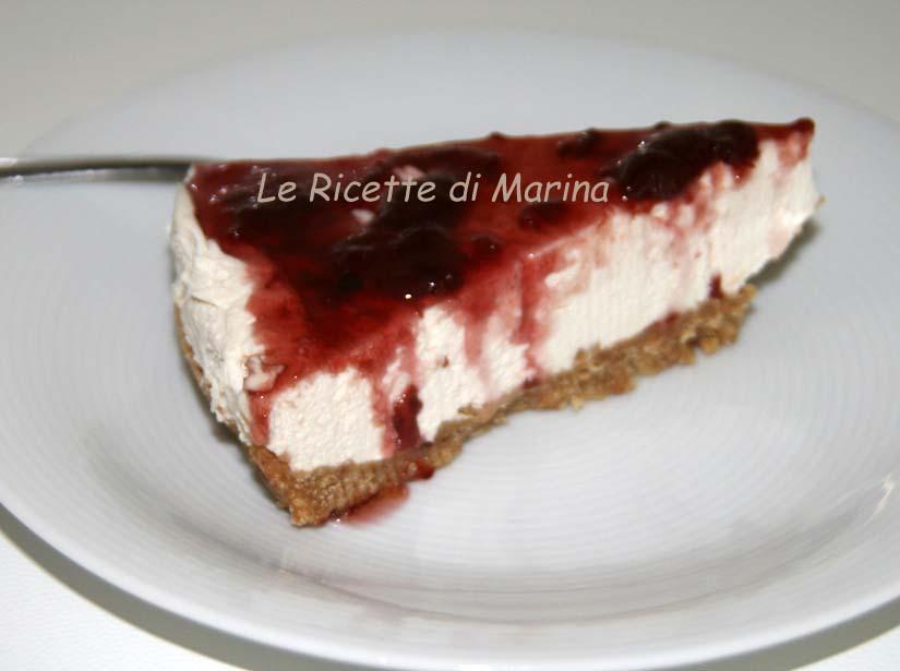 Cheesecake senza cottura, ricetta dolce