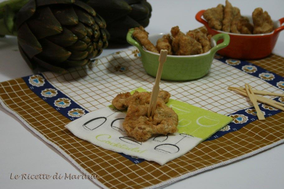 Carciofi fritti ('ndurati e fritti), ricetta della tradizione