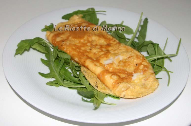 Omelette taleggio e tartufo