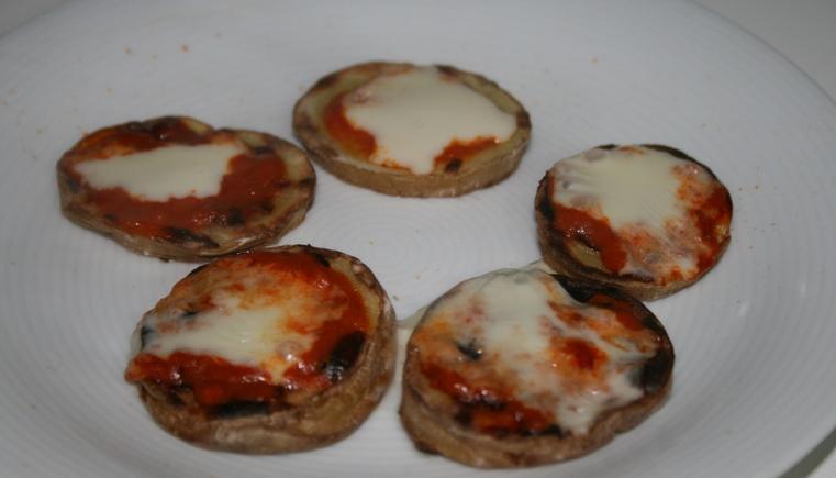 Patate arrostite con crema di peperoni