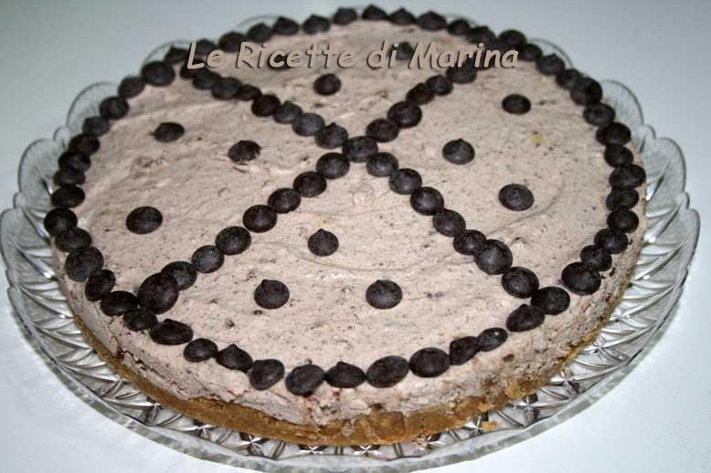 Cheesecake al torroncino