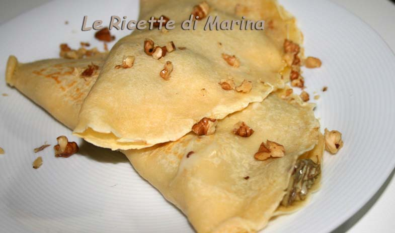 Crepes salate – Ricetta base