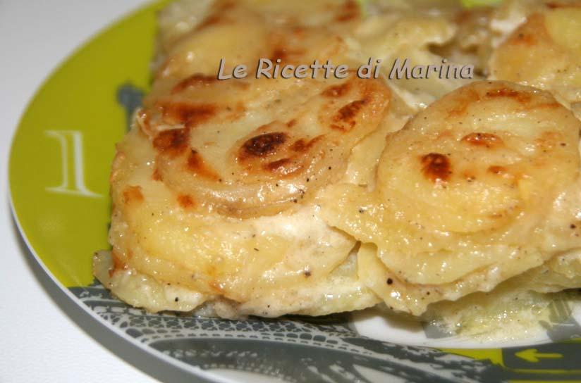 Gratin dauphinois – Patate gratinate al forno