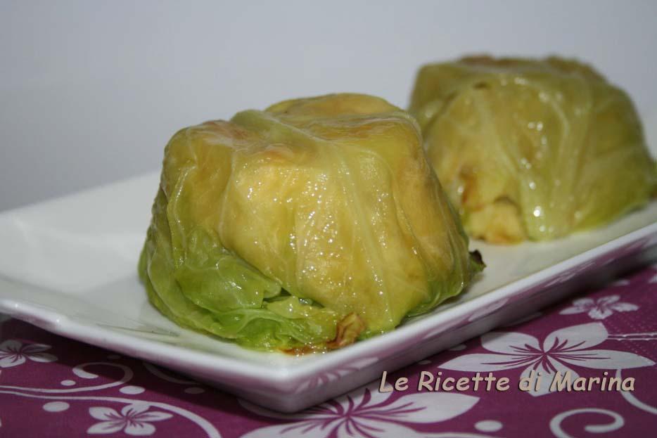 Sformatini di verza e patate