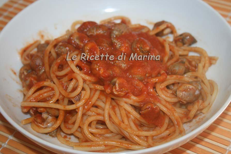 Spaghetti con i maruzzielli