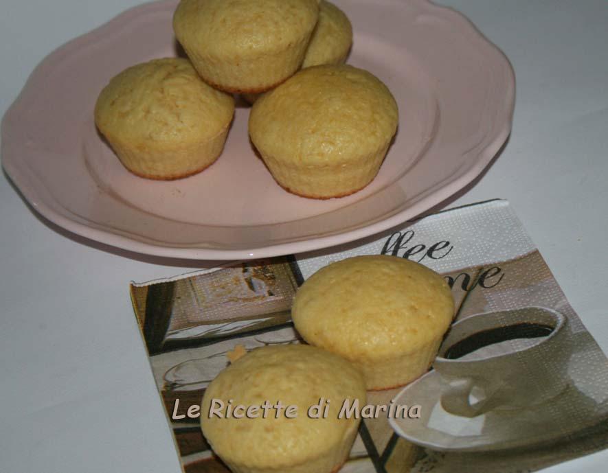 Muffin limone e arancia