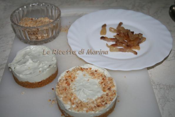 Cheesecake salata con guanciale croccante
