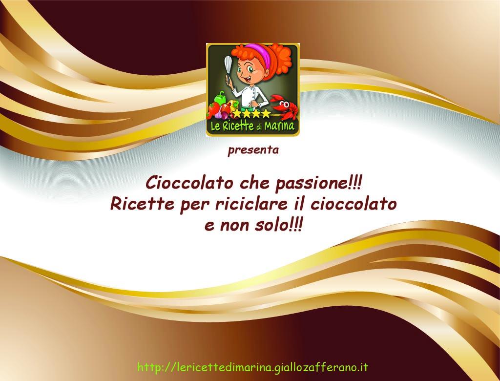 Cioccolato che passione!!! pdf per riciclare le uova di Pasqua