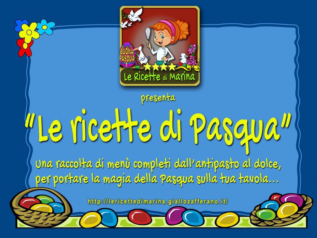 Le ricette di Pasqua, pdf gratuito da scaricare