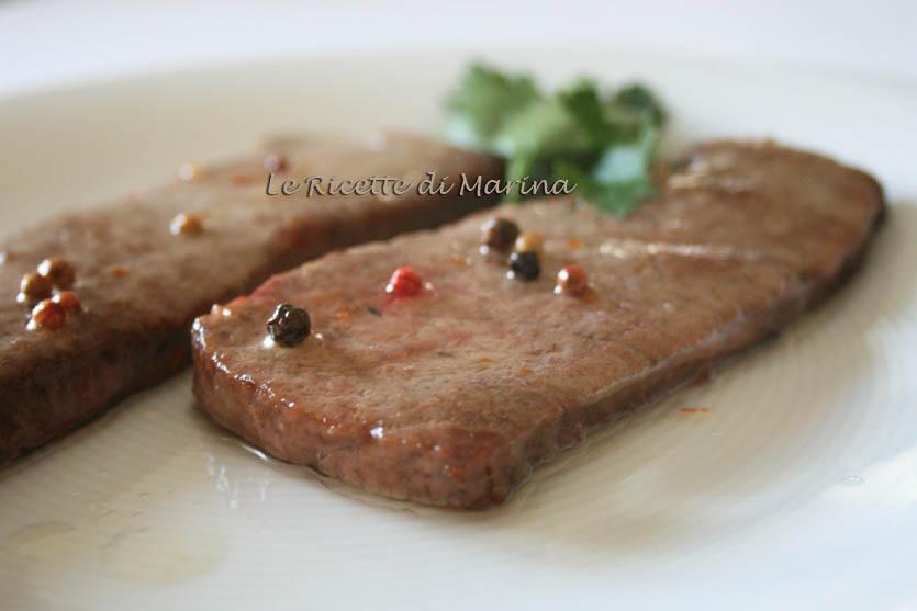 Filetto di tonno fresco al pepe