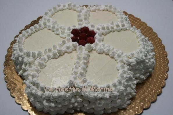 torta a fiore festa della mamma