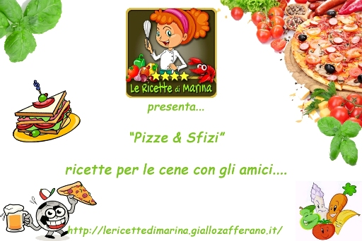 Pizze e sfizi – ricettario gratuito da scaricare