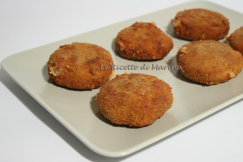 Crocchette di patate e carne