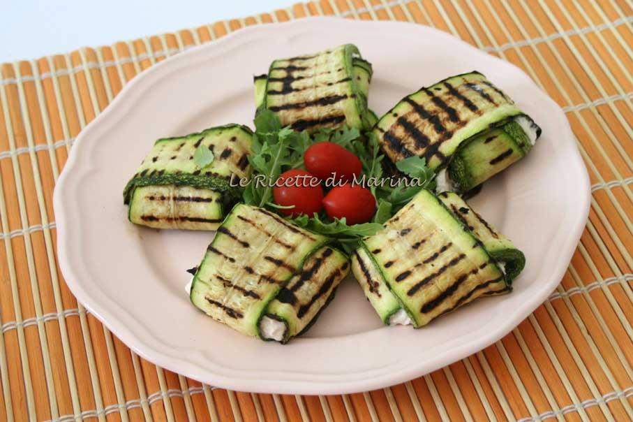 Canapè di zucchine