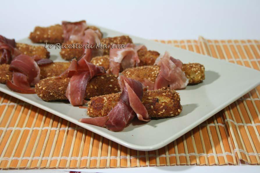Crocchette di patate al tartufo
