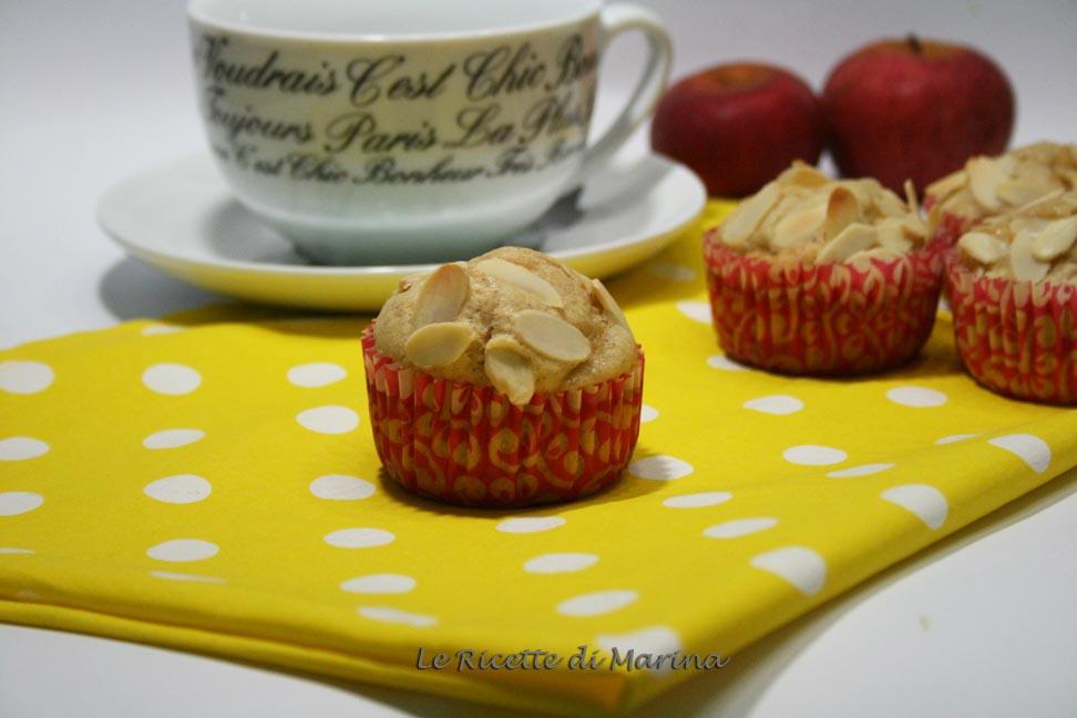 Muffin mele e mandorle