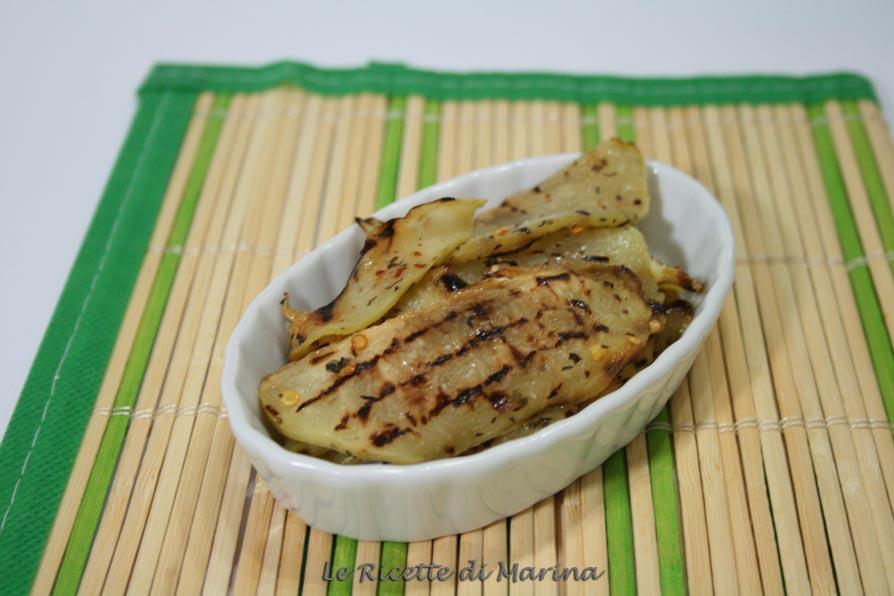 Zucchine spinose arrostite