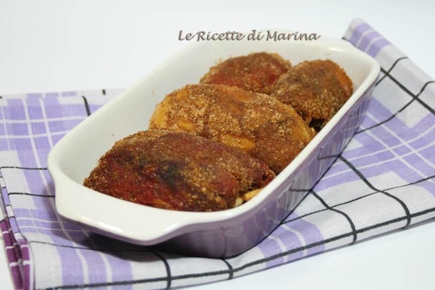 Involtini di peperoni alla siciliana