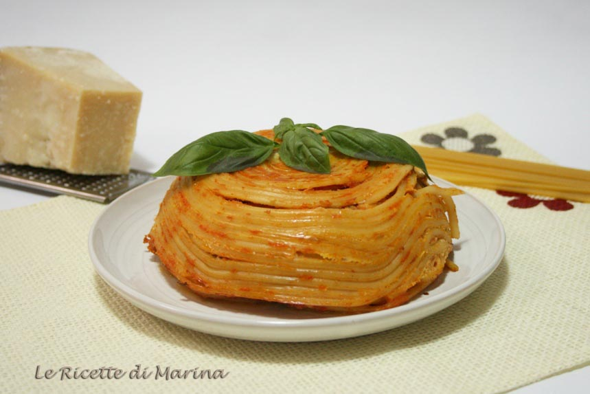 Timballo di bucatini