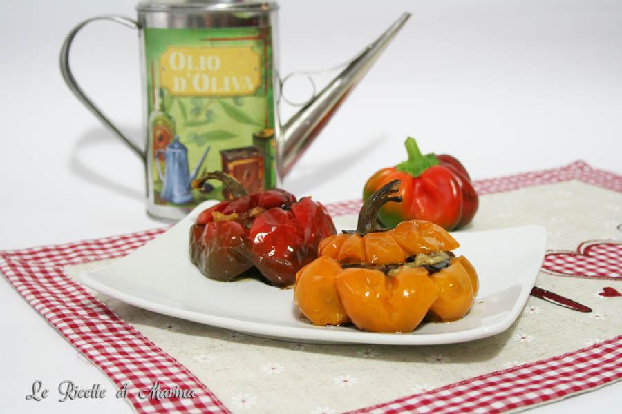 Papaccelle ripiene di melanzane
