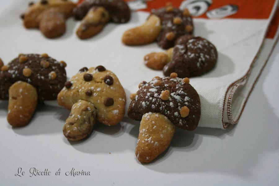 Funghetti autunnali – ricetta di biscotti