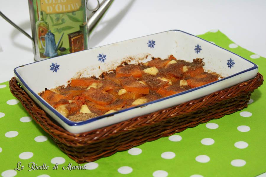 Parmigiana di zucca al brie
