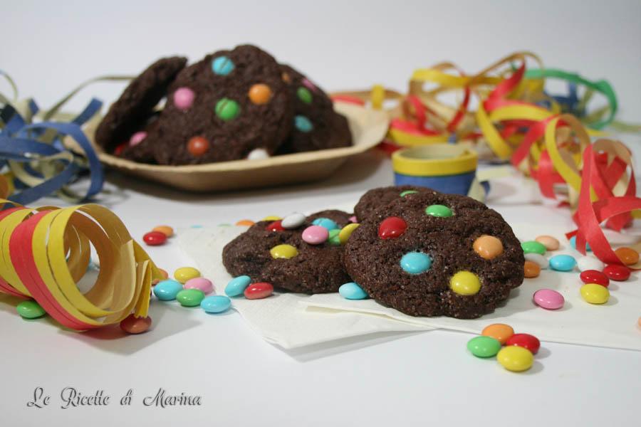 Cookies con gli smarties