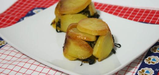 Tortini di patate salsicce e broccoli