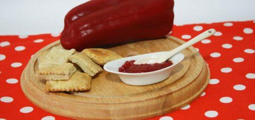 Confettura di peperoni rossi