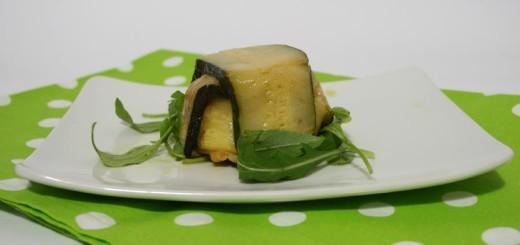 tortino di zucchine e gamberetti