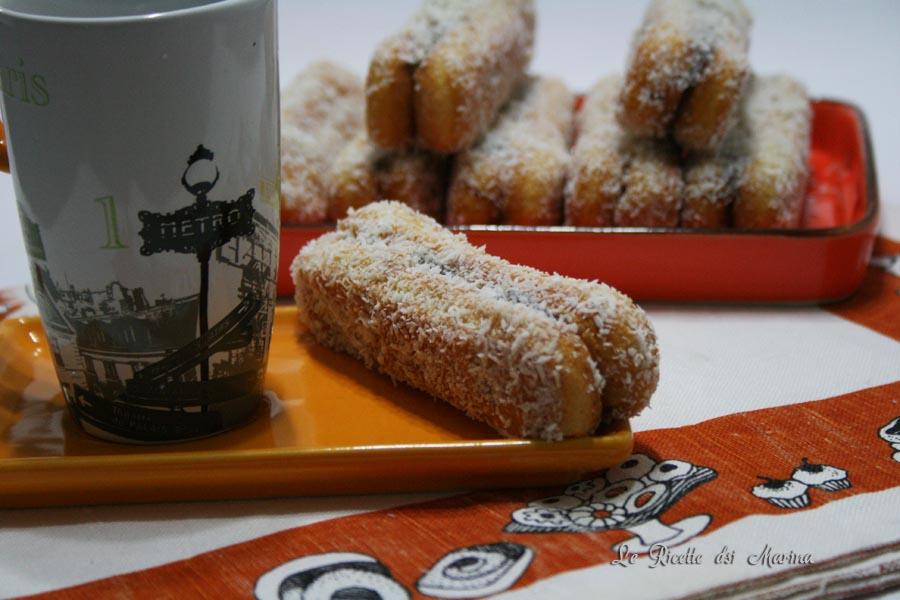 Savoiardi cocco e nutella