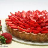 crostata con le fragole