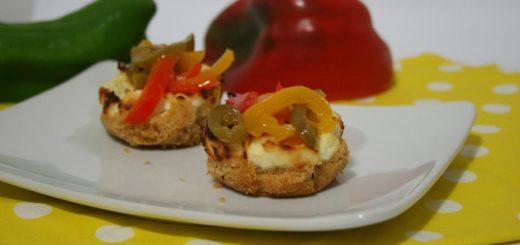 cheesecake salata con peperoni