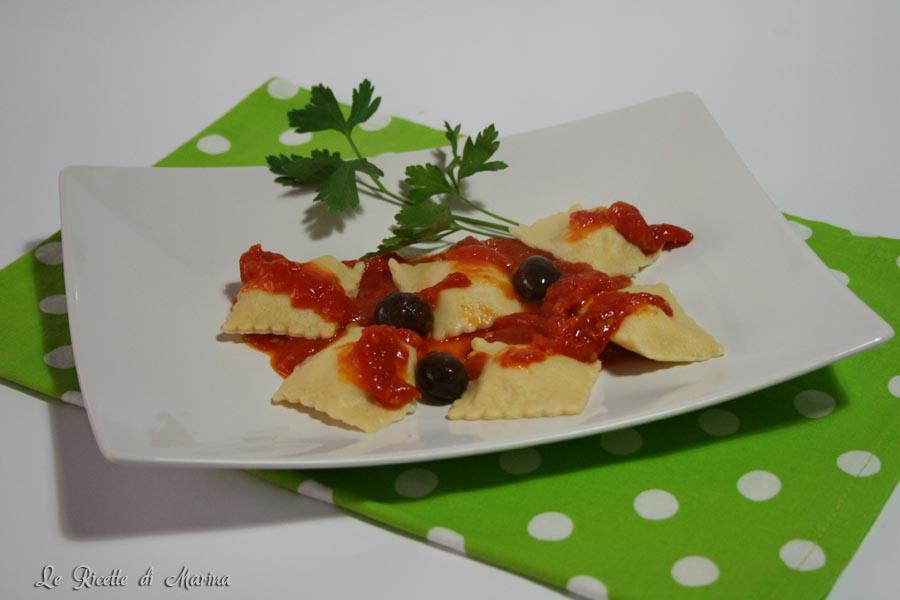 Ravioli con baccalà e patate