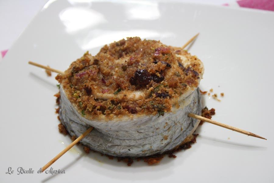 Ruota di spatola e pistacchi
