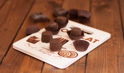 Cioccolatini ripieni di ricotta