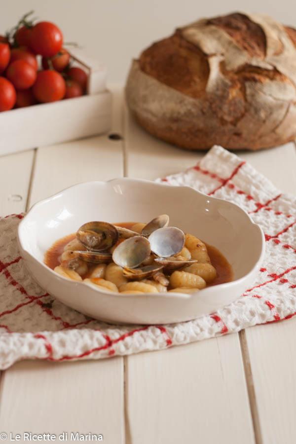 Gnocchetti con frutti di mare